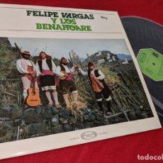 Discos de vinilo: FELIPE VARGAS Y LOS BENAHOARE LP 1978 MOVIEPLAY FOLK CANARIAS ISLAS VINILO NUEVO. Lote 156796034