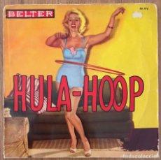 Discos de vinilo: CONJUNTO TROPICAL HULA HOOP EP BELTER ESPAÑA. Lote 156796298