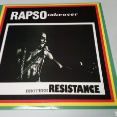 Discos de vinilo: BROTHER RESISTANCE - RAPSO TAKE OVER. LP VINILO NUEVO. RAPSO - REGGAE. Lote 156802444