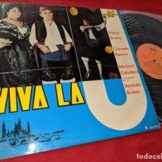 Discos de vinilo: VIVA LA JOTA PILARIN BUENO+CARMELO BETORE+BRETON+MARIANO CEBOLLERO LP 1966 MARFER ARAGON ZARAGOZA. Lote 156807050