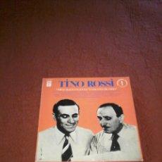 Discos de vinilo: TINO ROSSI MES SUCCES AVEC VINCENT SCOTTO EX/EX. Lote 156807134
