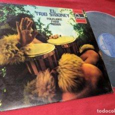 Discos de vinilo: TRIO SIBONEY FOLKLORE PARA TODOS LP 1973 FONTANA SPAIN ESPAÑA. Lote 156807326