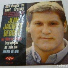 Discos de vinilo: JEAN JACQUES DEBOUT - LES FILLES DE TON AGE + 3 - EP - N. Lote 156807894
