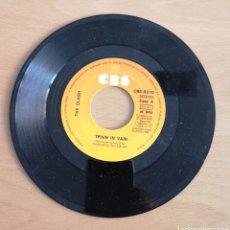 Discos de vinilo: THE CLASH - TRAIN IN VAIN - SOLO DISCO SIN FUNDA PORTADA. Lote 156809584