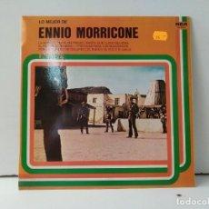 Discos de vinilo: LO MEJOR DE ENNIO MORRICONE . Lote 156809766