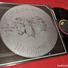 Discos de vinilo: GRAND FUNK RAILROAD E PLURIBUS FUNK 1972 LP 1986 CAPITOL SERIE FAMA ESPAÑA SPAIN. Lote 156809834