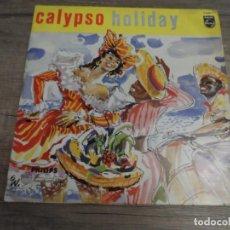 Discos de vinilo: THE NORMAN LUBOFF CHOIR – CALYPSO HOLIDAY (10 PULGADAS). Lote 156811362