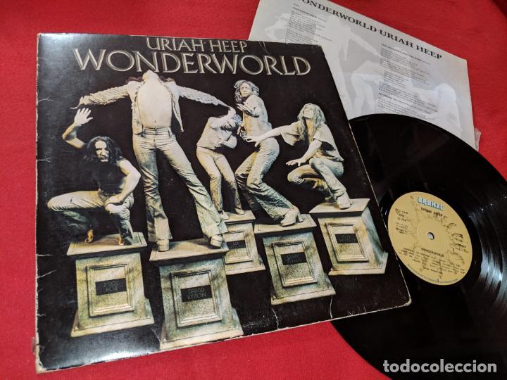 Uriah Heep Wonderworld Lp 1974 Bronze Edicion E Sold Through Direct Sale 156812978