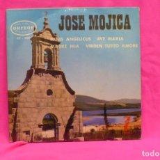 Discos de vinilo: JOSE MOJICA - PANIS ANGELICUS, AVE MARIA, MADRE MIA, VIRGEN TUTTO AMORE, ORFEON, 1964.. Lote 156817442