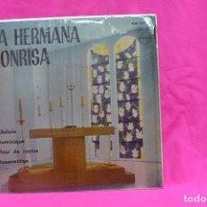 Discos de vinilo: LA HERMANA SONRISA - ALLELUIA, DOMINIQUE, FLEUR DE CACTUS, RESURRECTION, PHILIPS, 1962.. Lote 156823038
