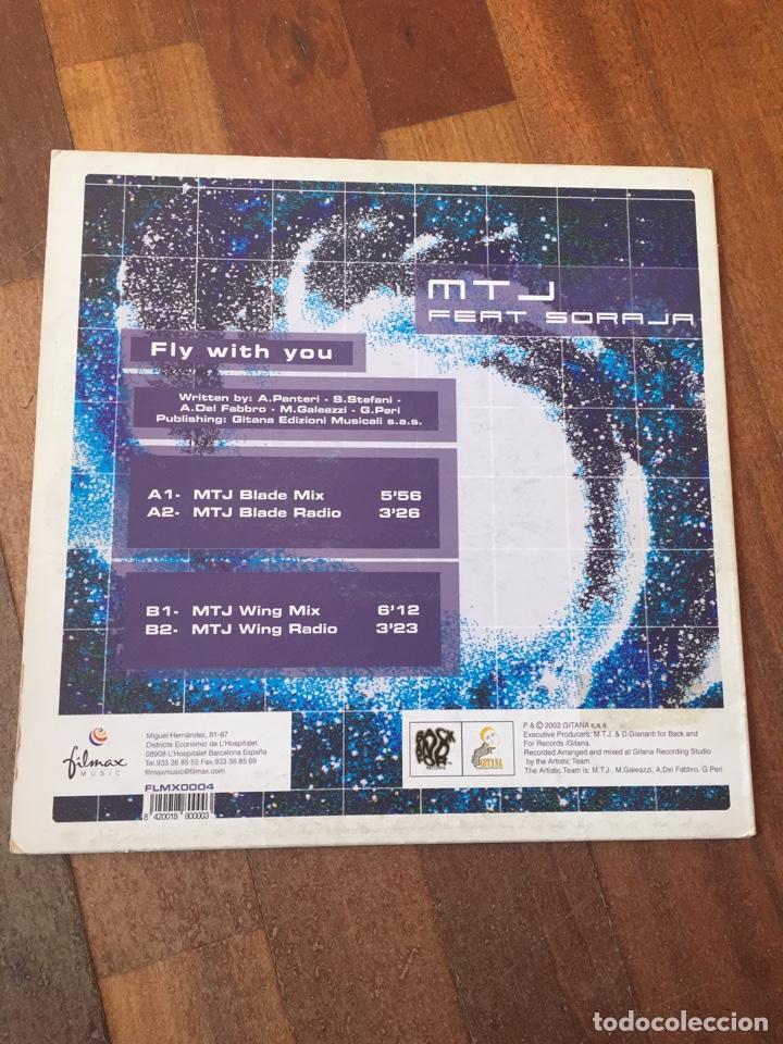 "Discos de vinilo: MTJ Feat. Soraya - Fly With You 12"" ITALODANCE 2003 - Foto 2 - 156823790"