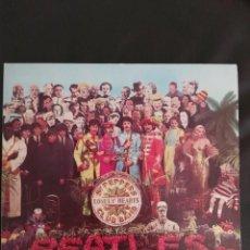 Discos de vinilo: THE BEATLES PEPPERS LONELY HEARTS CLUB BAND.SPAIN 1967 LP CON ENCARTE . Lote 156824270