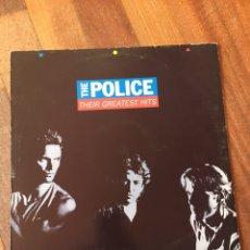 Discos de vinilo: THE POLICE - THEIR GREATEST HITS LP VINILO 1990 ESPAÑA. Lote 156826602