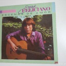 Discos de vinilo: JOSÉ FELICIANO - ESCENAS DE AMOR (VINILO). Lote 156826806
