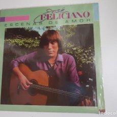 Discos de vinilo: JOSÉ FELICIANO - ESCENAS DE AMOR (VINILO). Lote 156826922