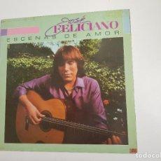 Discos de vinilo: JOSÉ FELICIANO - ESCENAS DE AMOR (VINILO). Lote 156827014