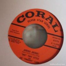 Discos de vinilo: BIG TINY LITTLE AND JOE FINGERS CARR ARRIBA ARUBA!/ WASHINGTON AND LEE SWING JAZZ SWING 1963 VG++. Lote 156829310