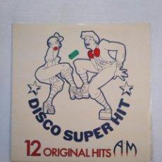 Discos de vinilo: DISCO SUPER HIT. 12 ORIGINAL HITS. BAZUKA. FIREFLY. CHARITY BROWN. GINO VANNELLI... TDKDA38. Lote 156831218