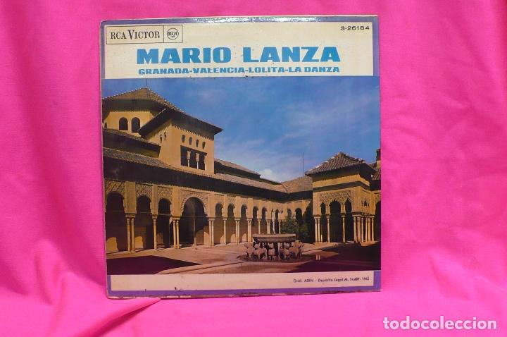 Discos de vinilo: mario lanza - granada, valencia, lolita, la danza, rca victor, 1962. - Foto 2 - 156831534