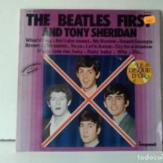 Discos de vinilo: THE BEATLES FIRST . Lote 156831938
