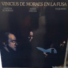 Discos de vinilo: VINICIUS DE MORAES EN LA FUSA - VINILO LP. Lote 156832006