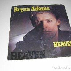 Discos de vinilo: BRYAN ADAMS HEAVEN. Lote 156832446
