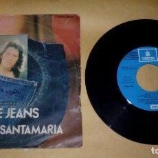 Discos de vinilo: LORENZO SANTAMARÍA–BLUE JEANS . Lote 156832558