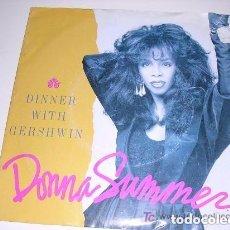 Discos de vinilo: DONNA SUMMER DINNER WITH GERSHWIN. Lote 156832798