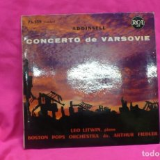 Discos de vinilo: ADDINSELL -- CONCERTO DE VARSOVIE, RCA, MADE IN FRANCE.. Lote 156832906