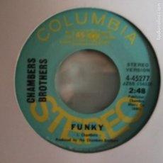 Discos de vinilo: CHAMBER BROTHERS FUNKY SOUL ORIGINAL PROMO USA 1970 VG++. Lote 156833882