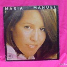 Discos de vinilo: MARIA VERANES - MANUEL / TE IRAS AMOR, CBS, 1976.. Lote 156835546