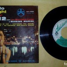 Discos de vinilo: MARINO MARINI E LOS MARCELLOS . Lote 156837546