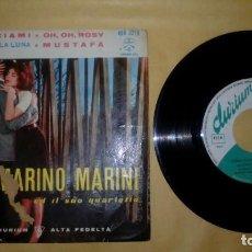 Discos de vinilo: MARINO MARINI - ABBRACCIAMI . Lote 156837846