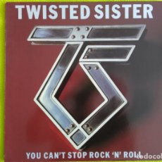 Discos de vinilo: TWISTER SISTER. YOU CAN'T STOP ROCK'N'ROLL. GERMANY 83. ENCARTE . Lote 156839246