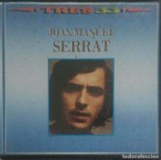 Discos de vinilo: JOAN MANUEL SERRAT (TRES 33) BOX 3 LP'S 1985 - DISCOS VG + CAJA VG. Lote 156840318
