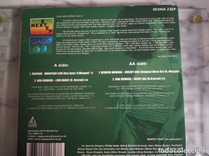 Discos de vinilo: COOL ROCKSTEADY VOL.3 VV.AA NEXTSTEP 2004 NM - Foto 2 - 156826194