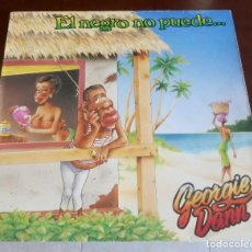 Discos de vinilo: GEORGIE DANN - EL NEGRO NO PUEDE - LP - 1978. Lote 156853106