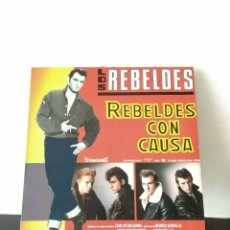Discos de vinilo: LOS REBELDES. REBELDES CON CAUSA.. Lote 156854668