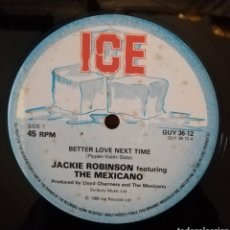 Discos de vinilo: JACKIE ROBINSON FEATURING THE MEXICANO - JAMAICAN CHILD. Lote 156857946