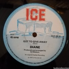 Discos de vinilo: DIANE - GOT TO GIVE AWAY. Lote 156858905