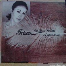Discos de vinilo: FRISCO FEAT. SONYA SANTANA - A RITMO DE SON MAXI SINGLE 12 SPAIN 2001. Lote 156861154