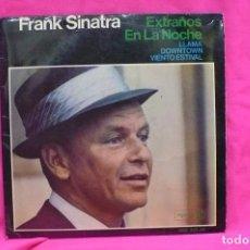 Discos de vinilo: FRANK SINATRA -- EXTRAÑOS EN LA NOCHE, LLAMA, DOWNTOWN, VIENTO ESTIVAL, REPRISE,1966.. Lote 156861866