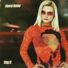Discos de vinilo: MARIA RUBIA - SAY IT MAXI SINGLE SPAIN 2001. Lote 156861994
