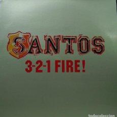 Discos de vinilo: SANTOS - 3-2-1 FIRE MAXI SINGLE SPAIN 2001. Lote 156862086