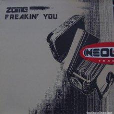 Discos de vinilo: ZOME - FREAKIN YOU MAXI SINGLE SPAIN 2000. Lote 156862298