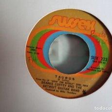 Discos de vinilo: DENNIS COFFEY TAURUS/ CAN YOU FEEL IT FUNK ORIGINAL USA 1971 VG+. Lote 156862706