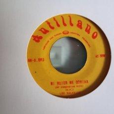 Discos de vinilo: LOS SALVAJES MI MUJER ME DOMINA/ COMO BAILA LOLA REGGAE ORIGINAL COLOMBIA VG+ LATINAMERISKA. Lote 156863582