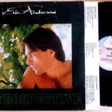 Discos de vinilo: ERIC ANDERSEN - RETROSPECTIVE - LP CON ENCARTE 1981 - ARISTA. Lote 156863918