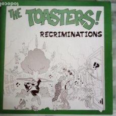 Disques de vinyle: TOASTERS EP RECRIMINATIONS SKA REEDICIÓN 2013 NM. Lote 156865506