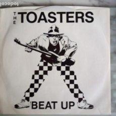 Discos de vinilo: TOASTERS EP BEAT UP SKA REEDICIÓN LIMITADA USA 2014 NM VINILO BLANCO. Lote 156866362